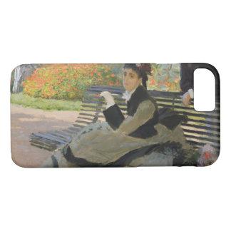 Claude Monet - Camille Monet op een Bank iPhone 8/7 Hoesje