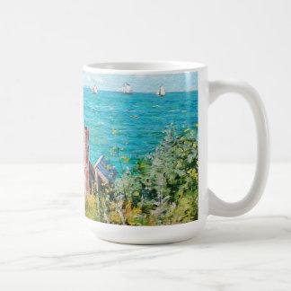 Claude Monet de Cabine bij Fijn Art. Koffiemok