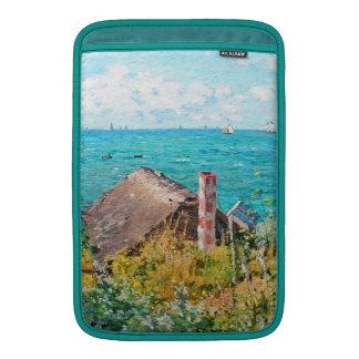 Claude Monet de Cabine bij Fijn Art. MacBook Beschermhoes