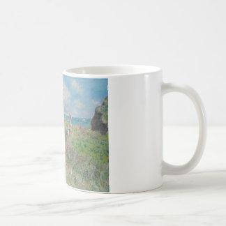 Claude Monet - de Gang van de Klip in Pourville Koffiemok