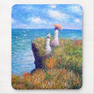 Claude Monet: De Gang van de klip in Pourville Muismat