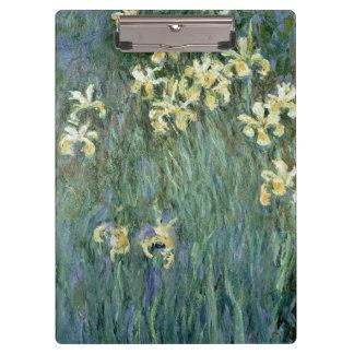 Claude Monet | de Gele lissen Klembord