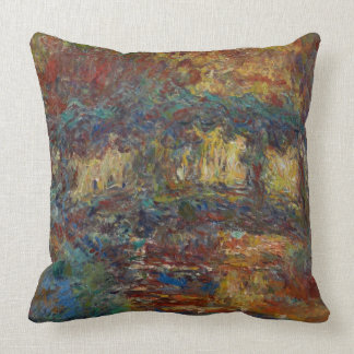 Claude Monet   de Japanse Brug Sierkussen