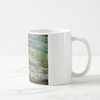 Claude Monet - de Japanse Voetgangersbrug Koffiemok