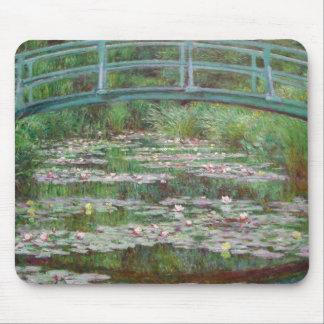 Claude Monet - de Japanse Voetgangersbrug Muismatten