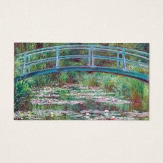 Claude Monet de Japanse Voetgangersbrug Visitekaartjes