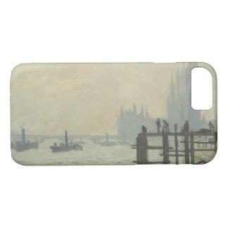 Claude Monet - de Theems in Westminster iPhone 8/7 Hoesje