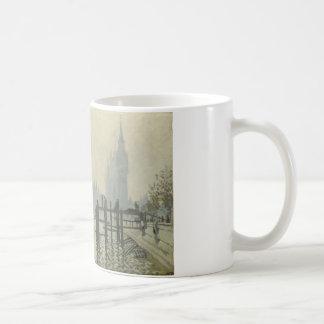 Claude Monet - de Theems in Westminster Koffiemok