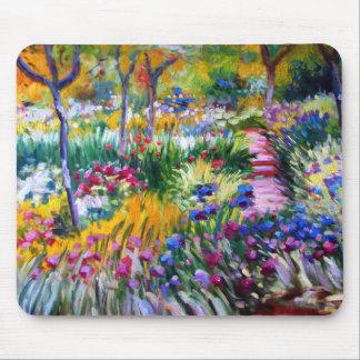 Claude Monet: De Tuin van de iris door Giverny Muismat