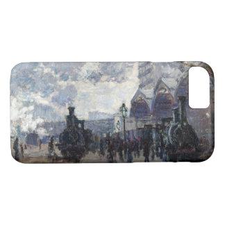 CLAUDE MONET - Gare st-Lazare 1877 iPhone 8/7 Hoesje