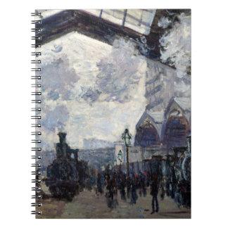 CLAUDE MONET - Gare st-Lazare 1877 Ringband Notitieboek