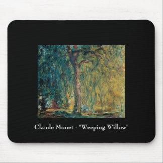 Claude Monet - het Huilen Wilg Muismat