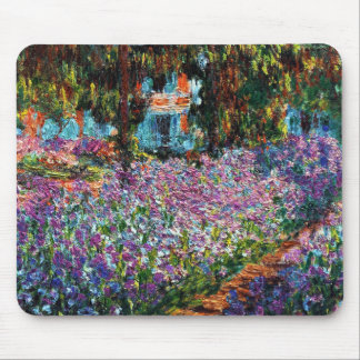 Claude Monet: Irissen in de Tuin van Monet Muismat