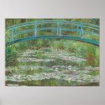 Claude Monet   Japanse Voetgangersbrug, 1899 Poster