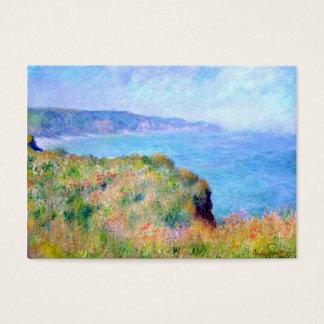 Claude Monet: Klip dichtbij Pourville Visitekaartjes