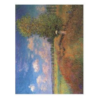 Claude Monet L'? t?. Champ DE coquelicots Briefkaart