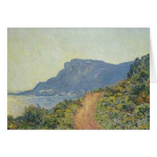 Claude Monet - La Corniche dichtbij Monaco Briefkaarten 0