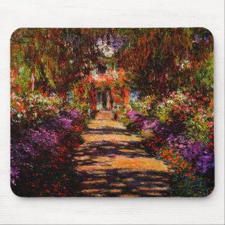 Claude Monet-Pathway in de Tuin van Monet in Muismatten