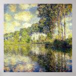 Claude Monet - Populieren op Epte Afdruk