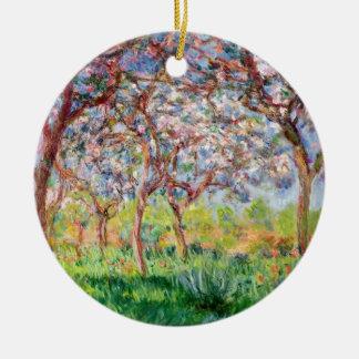Claude Monet | Printemps een Giverny Rond Keramisch Ornament