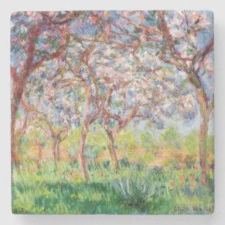 Claude Monet | Printemps een Giverny Stenen Onderzetter