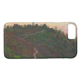 Claude Monet - roche-Blond Dorp van La iPhone 8/7 Hoesje