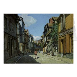 Claude Monet - Rue de la Bavole, Honfleur Kaart