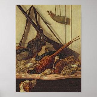 Claude Monet   Trofeeën van de Jacht, 1862 Poster
