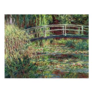 Claude Monet | Vijver Waterlily: Roze Harmonie, Briefkaart