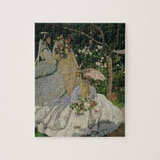 Claude Monet | Vrouwen in de Tuin Puzzel