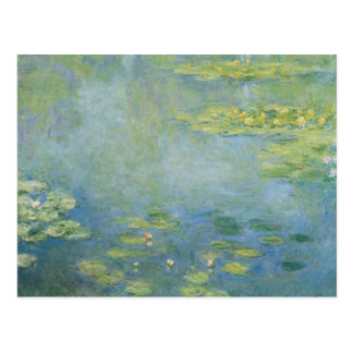 Claude Monet - Waterlilies Briefkaart
