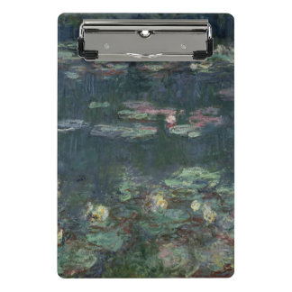 Claude Monet | Waterlilies: Groene Bezinningen Mini Klembord