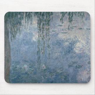 Claude Monet | Waterlilies: Huilende Wilgen, 1914 Muismat