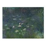 Claude Monet   Waterlilies: Ochtend, 1914-18 Briefkaart