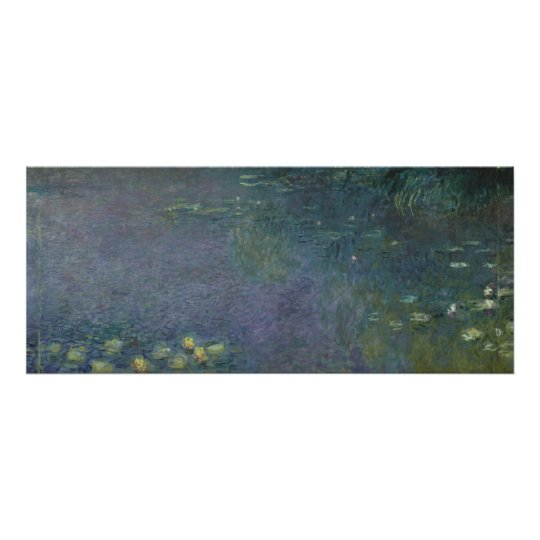 Claude Monet | Waterlilies: Ochtend, 1914-18 Poster