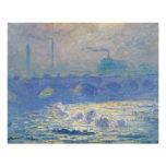 Claude Monet - Waterloo Brug Poster