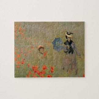 Claude Monet | Wilde Papavers, dichtbij Argenteuil Puzzel