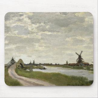 Claude Monet - Windmolens dichtbij Zaandam Muismat