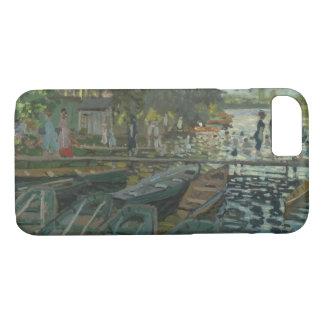 Claude Monet - Zwemmers bij La Grenouillere iPhone 8/7 Hoesje