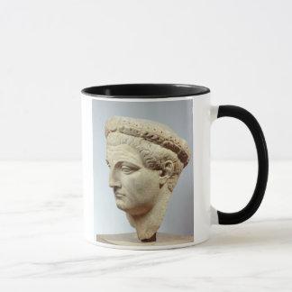 Claudius, marmeren hoofd, ADVERTENTIE 41-54 Mok