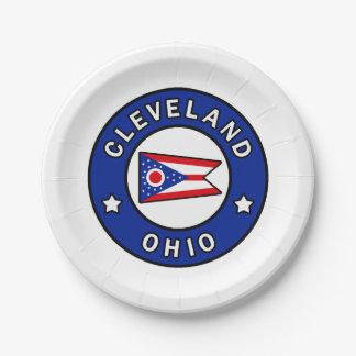Cleveland Ohio Papieren Bordje