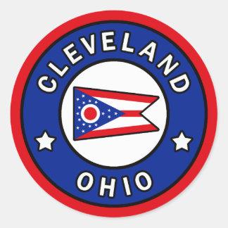 Cleveland Ohio Ronde Sticker