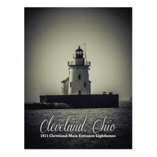 Cleveland, Ohio - Vuurtoren van de Ingang van 1911 Briefkaart
