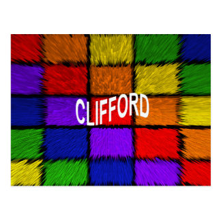 CLIFFORD BRIEFKAART