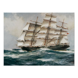 Clipper Schip Torrens Poster