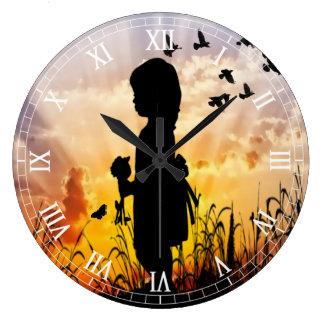 Clockart (35) grote klok