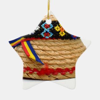 clop traditioneel pet keramisch ster ornament