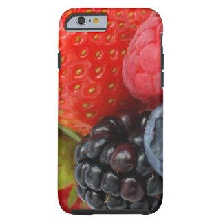Close-up van bessen tough iPhone 6 hoesje
