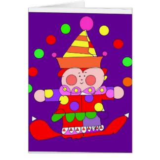 clown 300dpi- illustratorexemplaar briefkaarten 0