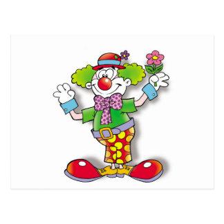 Clown Briefkaart